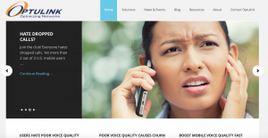 A new website quickly vaulted Optulink to the top of Google searches on mobile voice optimization.