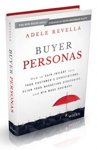Buyer Personas helps marketers tend their authority by becoming customer experts.