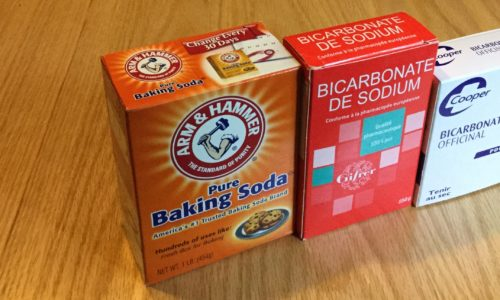When I looked for baking soda in France, I learned that the French don't use it for baking.
