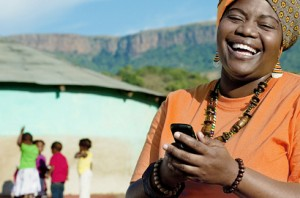 Mobile money called MPesa handles 1/3 of Kenya's GDP.
