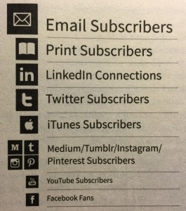 Subscriber hierarchy by Joe Pulizzi