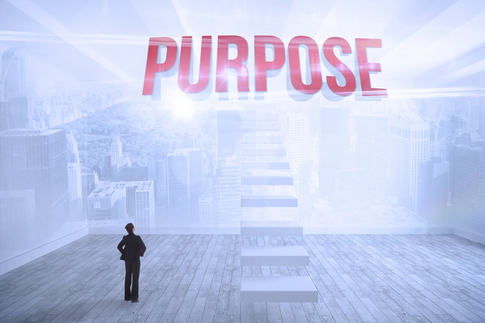 Purpose adds meaning to content marketing.