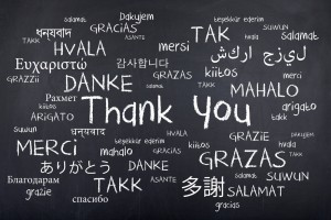 Thanks to you!
