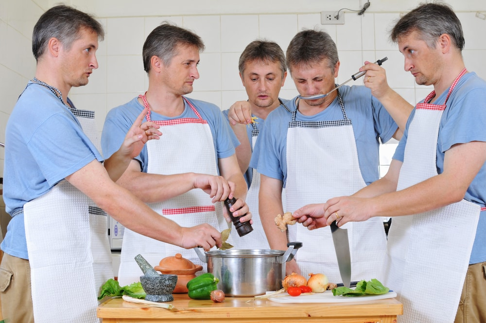 Too many chefs spoil the marketing message.