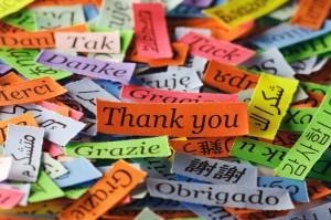 Speaking different languages