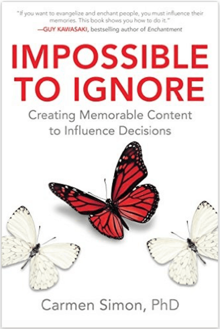 Impossible to Ignore by Dr. Carmen Simon