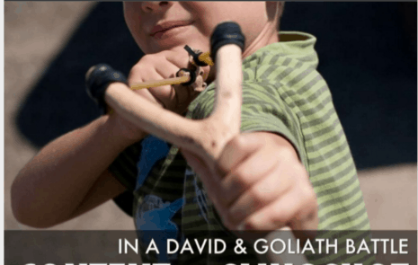 "David and Goliath content marketing - ""How do you promote content efficiently (without big budgets)?"