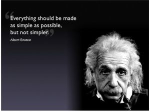einstein-simplify-quote