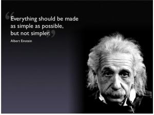 einstein-simplify-quote - simplify content