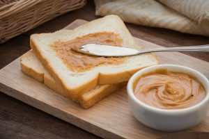 peanut butter spread too thin