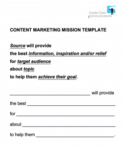 Content Mission Template