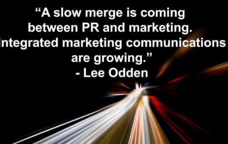 Slow merge of PR and marketing