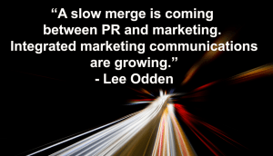 PR + marketing = the future of content marketing