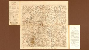 1910 Michelin Map