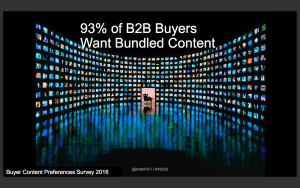 93% Want Bundled Content - Albee