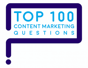 Top 100 content marketing questions
