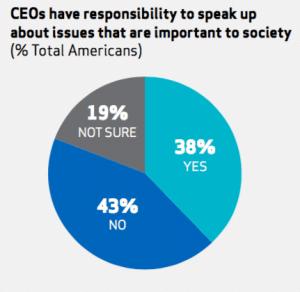 CEO responsibility to speak up