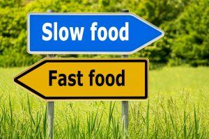 slow food vs. fast food