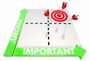 Urgent vs important