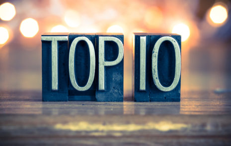 Top 10 blogs of 2018