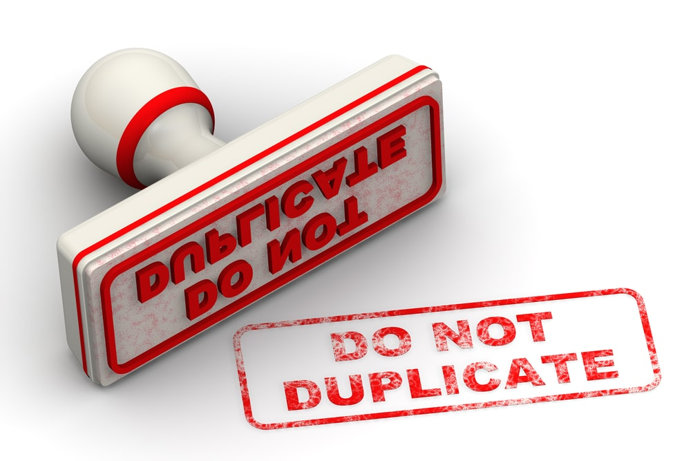 How do you overcome duplicate content – content that covers the same things?
