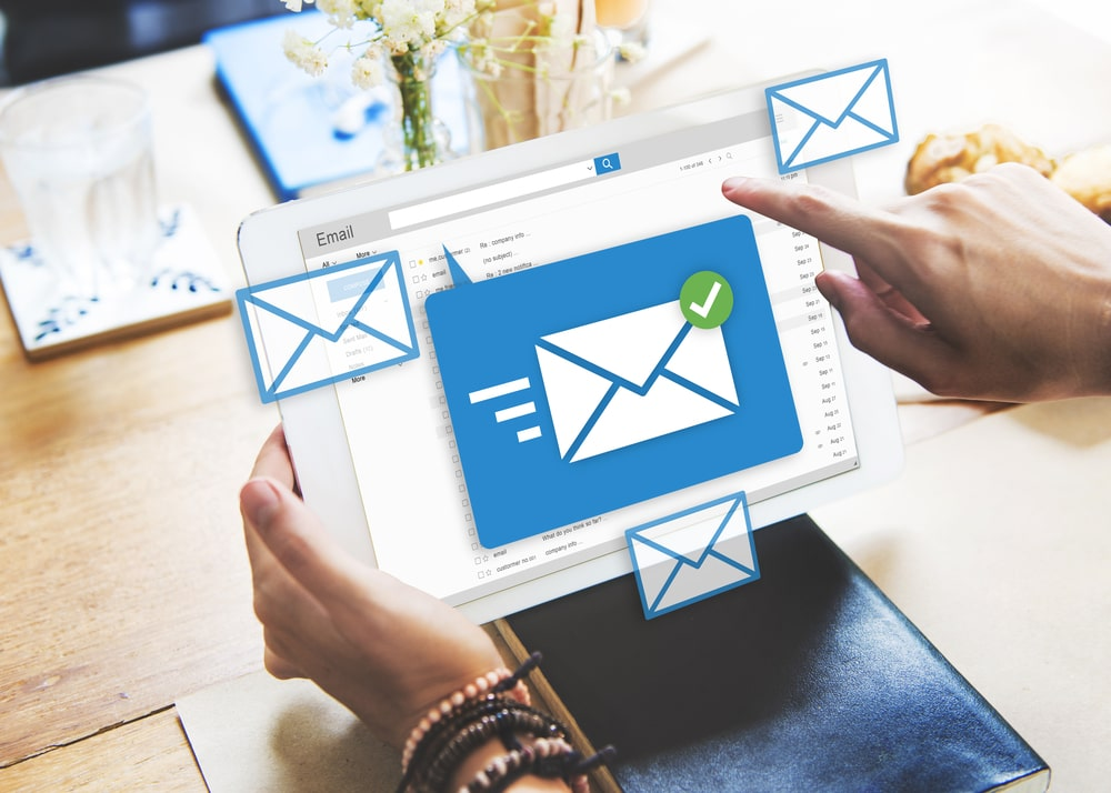 How often should we be hitting prospects with emails containing content?