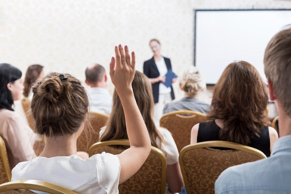 Presenting? Here's how to handle tough audience questions