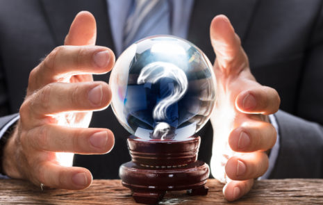 crystal ball question mark