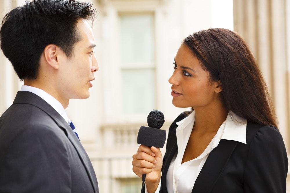 Good media interview