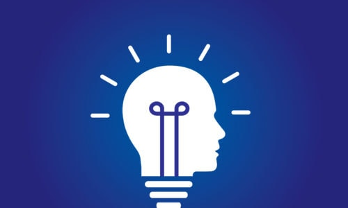 How can we grow ideas generated at weekly meetings into actual acts?Silhouette of a head as a lightbulb that is lit with an idea.