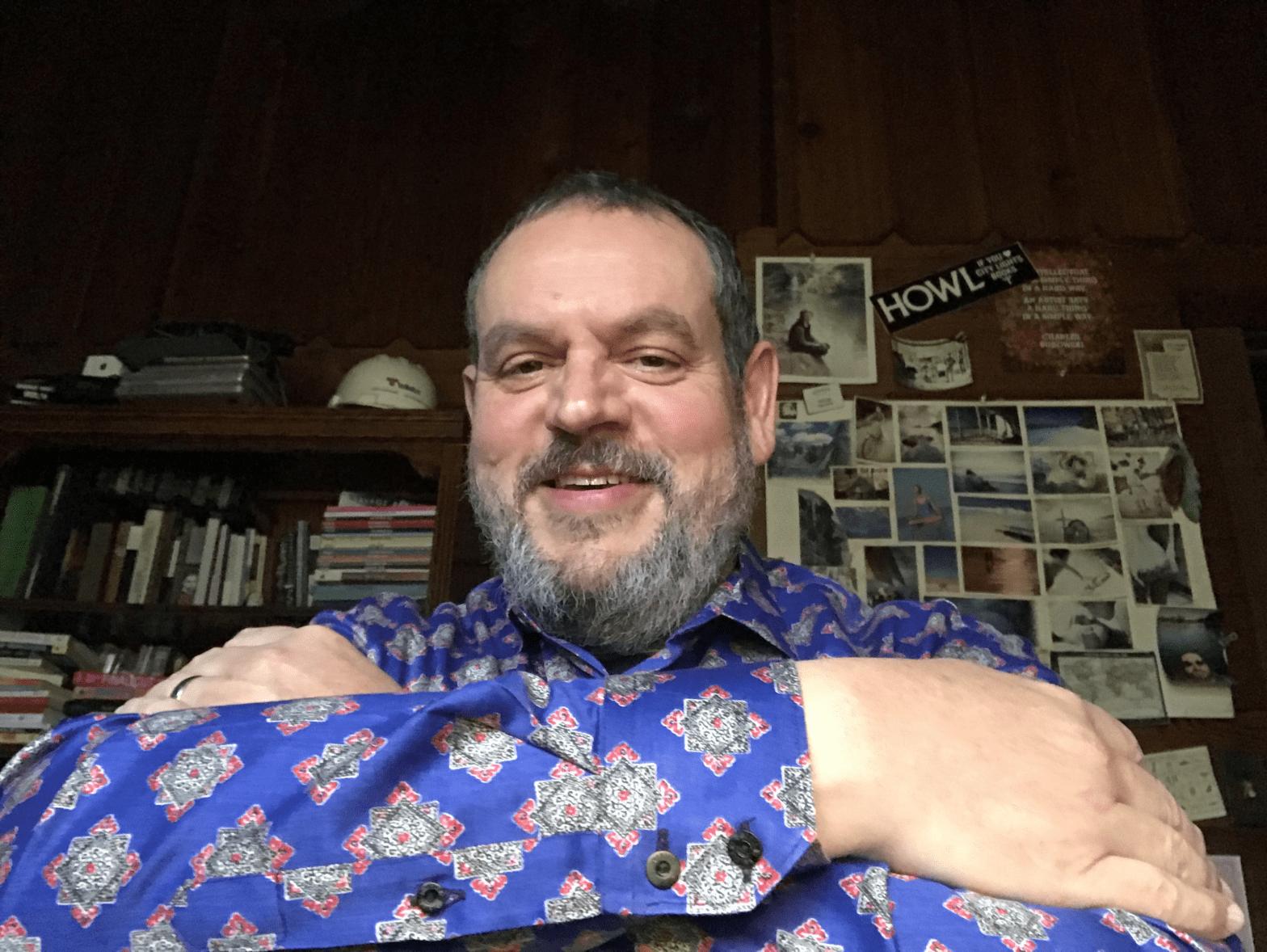 You and George Stenitzer virtual hug
