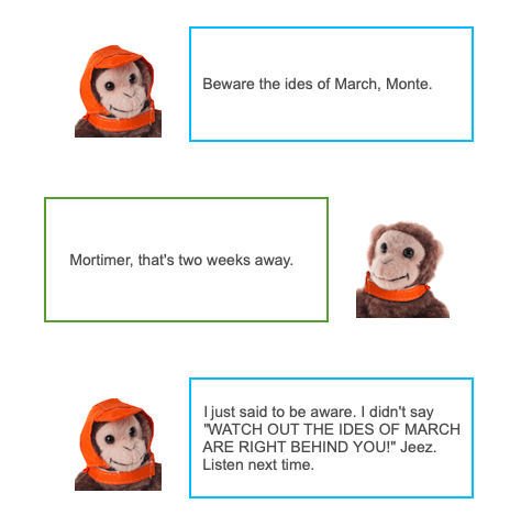 Monkeys deliver the voice of Woot