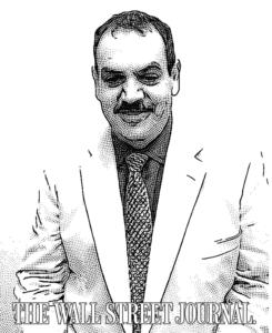 George Stenitzer - Wall Street Journal portrait