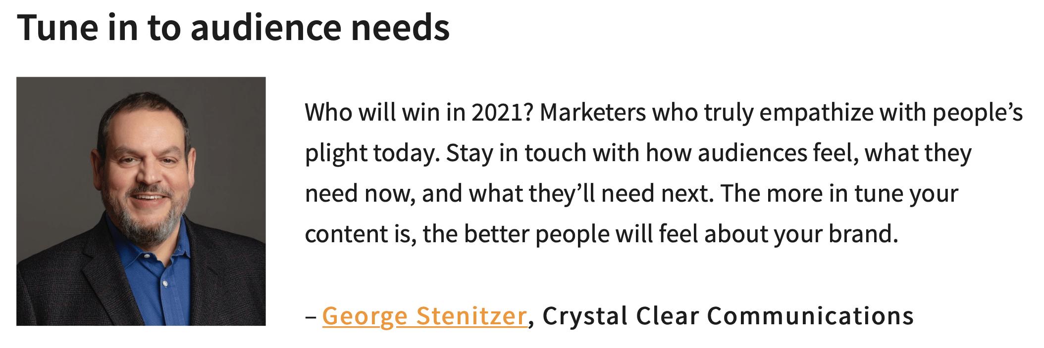2021 content marketing prediction