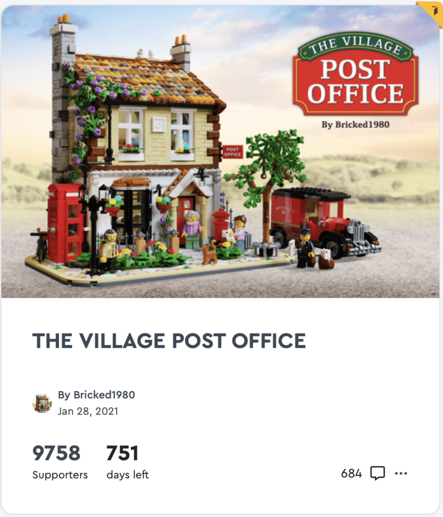 Lego The Village Post Office - 4 Examples of a company that does content marketing very well
