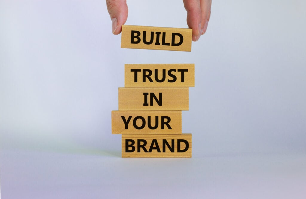 using content marketing to rebuild trust in your brand