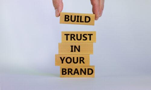 Rebuild trust in your brand
